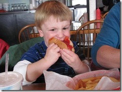 How to eat a hot dog